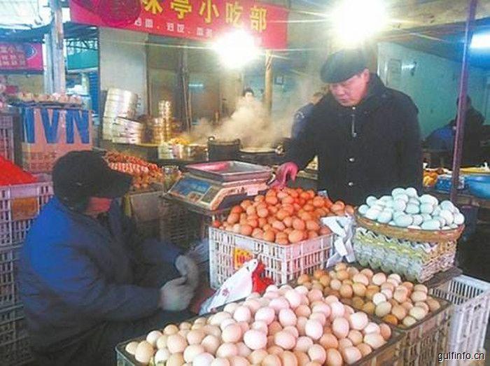 每斤<font color=#ff0000>鸡</font><font color=#ff0000>蛋</font>2.6元创10年新低,上海市民:趁现在便宜多吃点