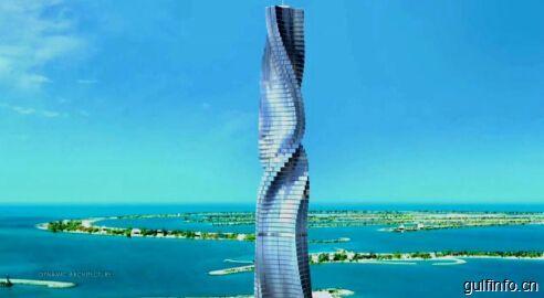 迪拜将兴建80层全新旋转式酒店  拟于2020年动工