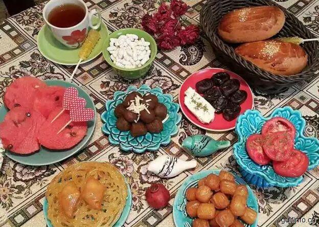 伊朗人在开斋时都吃些什么......