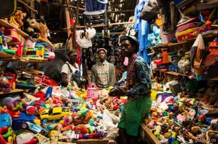 """中国出口商品大量涌入肯尼亚市场,""""中国制造""""大受欢迎"""