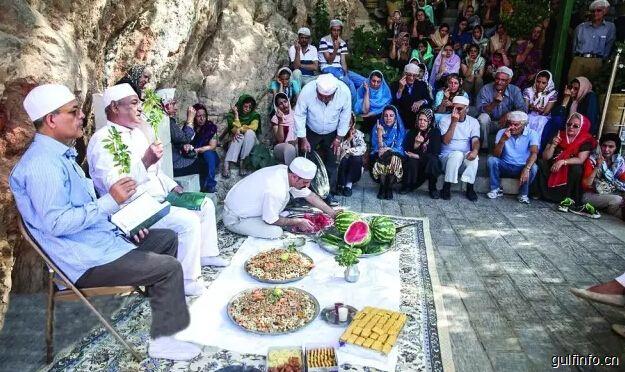 伊朗文化 | 琐罗亚斯德教举行传统节日庆典