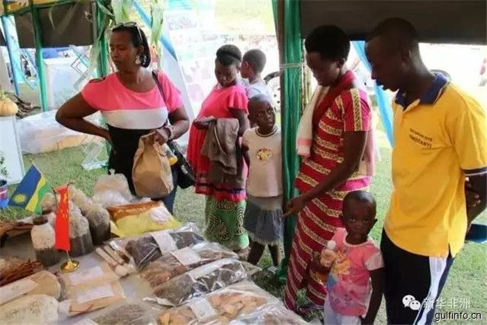 中国农业技术亮相卢旺达农业展览会