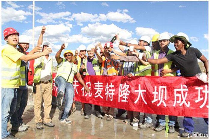 """聚焦""""一带一路"""" 中国水电八局织梦南非"""