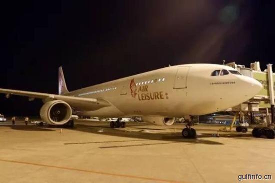 湖南首条直达非洲航线开通 首航客座率达100%