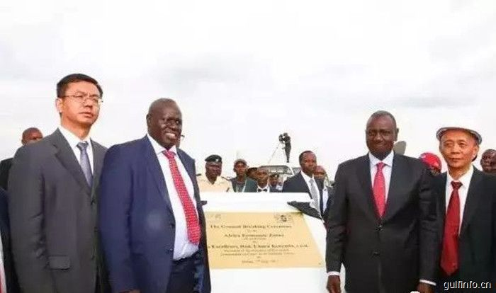中国肯尼亚合建的经济特区启动建设