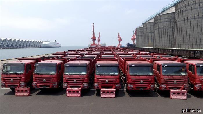 中国重汽500辆重卡出口埃塞俄比亚 销量和份额双双刷新记录