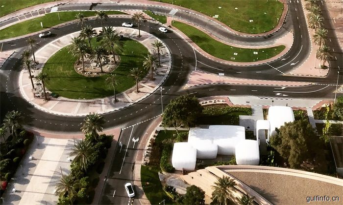 在迪拜,用3D打印技术建造办公室