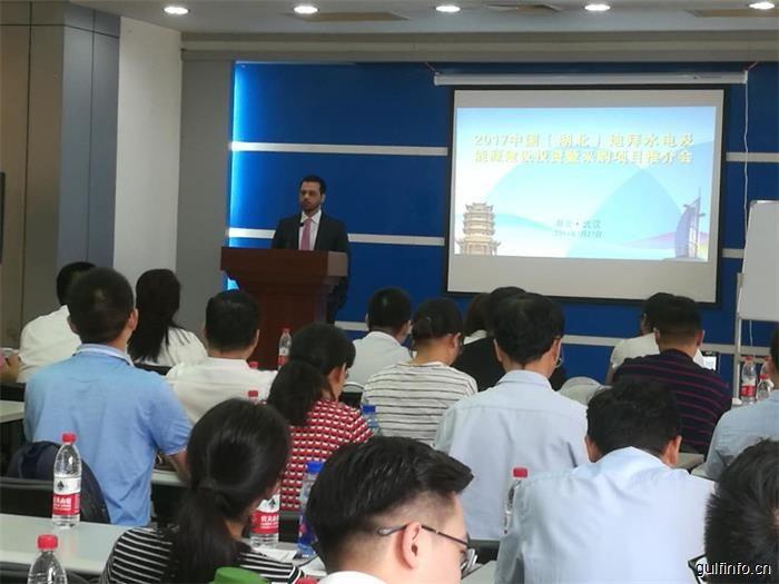 2017中国(湖北)迪拜水电及能源建设投资 采购项目推介会在汉成功召开
