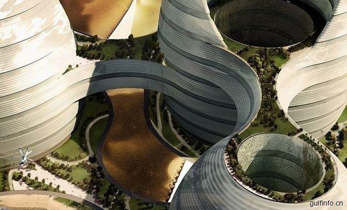 阿联酋建未来大都会科技感十足,超炫酷!