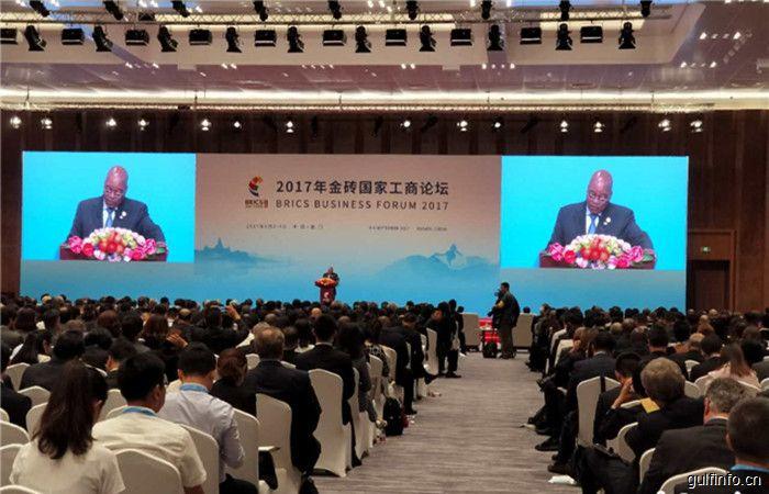 金砖以会议在厦门召开,南非总统:非洲机会多 欢迎来投资