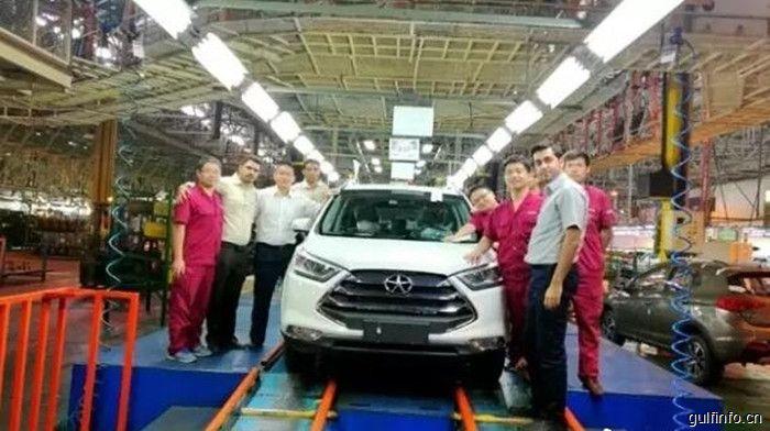 伊朗工厂首台S3车型正式下线,江淮汽车开启伊朗市场新征程