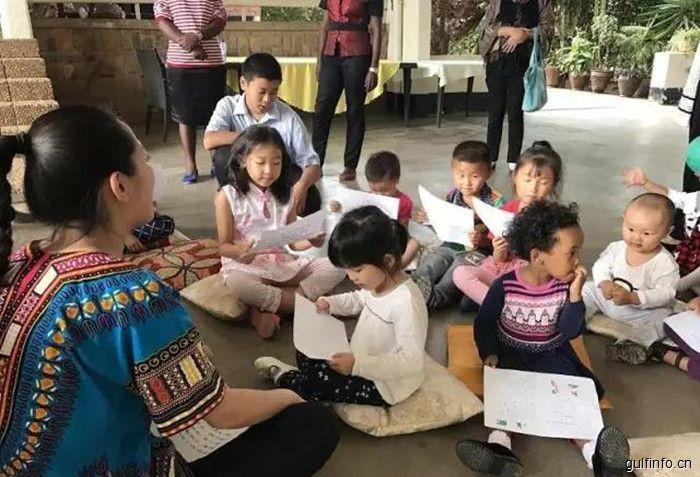 卢旺达孔子学院首开华人华侨子女班,逐步实现全面化汉语教学
