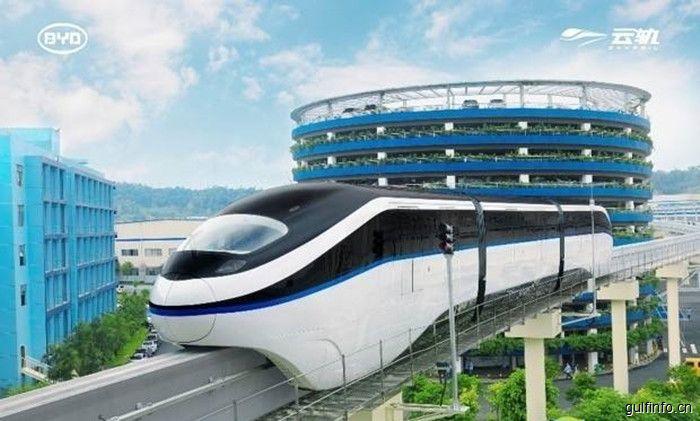 中企助力埃及轨道交通,打造非洲首条跨座式单轨