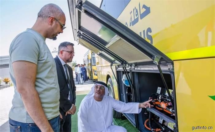 迪拜将迎来电动校车 - 是中国产的