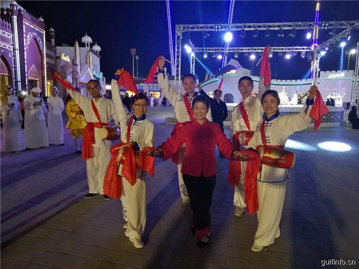 第八届谢赫扎耶德文化遗产节开幕:金钹斗鼓红缨飞,中华武魂耀中东