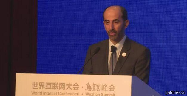 """中国、阿联酋等国代表共同发起《""""一带一路""""数字经济国际合作倡议》"""