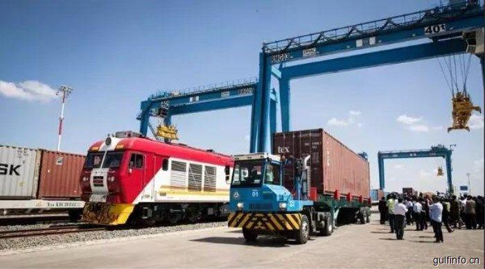 中企承建的内罗毕内陆集装箱港正式启动,肯尼亚总统出席仪式