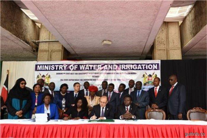 中企再助肯尼亚基础建设,与肯签署肯尼亚斯瓦克大坝项目
