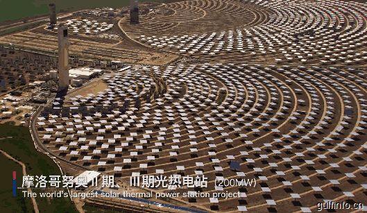 中国承建大型光热电站并网发电 摩洛哥实现能源独立