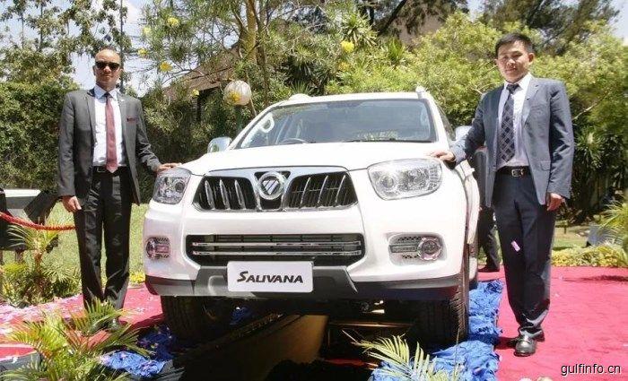福田汽车在肯尼亚推出新品 看看都有什么车?