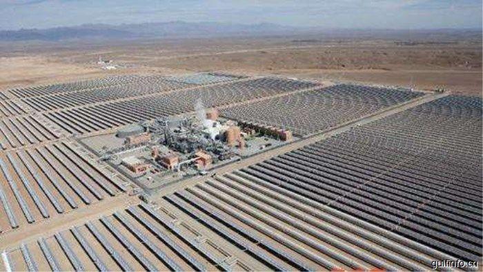 中企承建的摩洛哥太阳能电站主体工程于近日正式开工