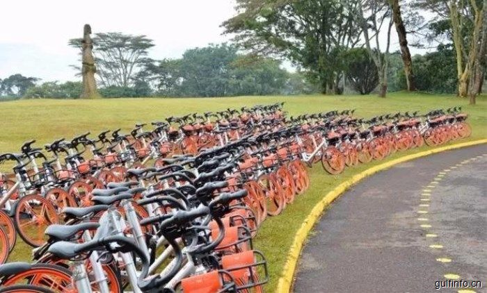 """中国共享单车""""骑""""向联合国内罗毕办事处"""