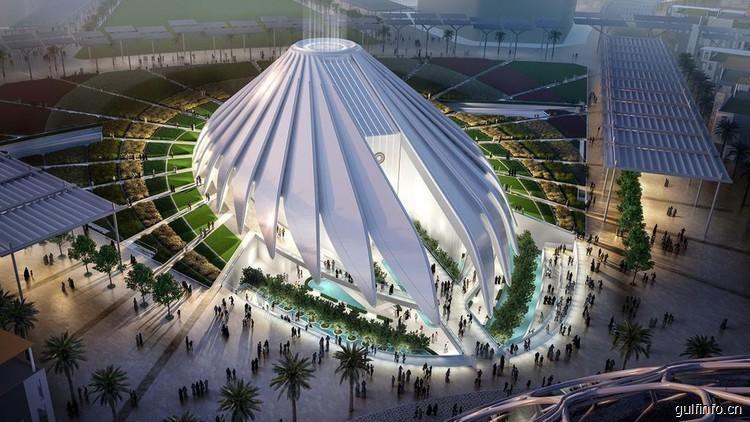 迪拜世博会建设进行时