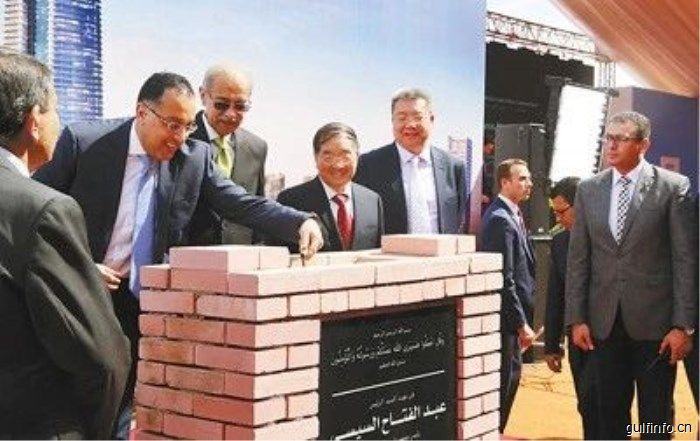 中企承建埃及最大中央商务区项目
