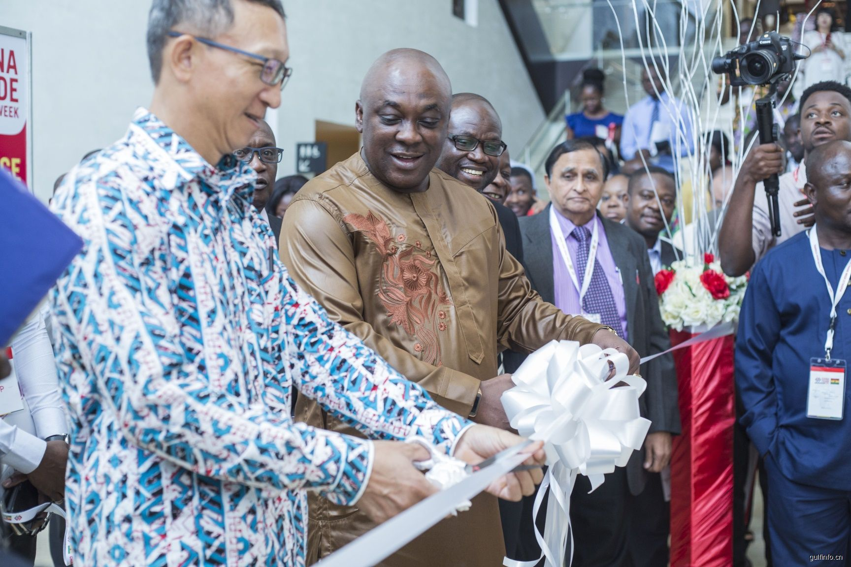 第二届加纳中国贸易周在阿克拉隆重开幕