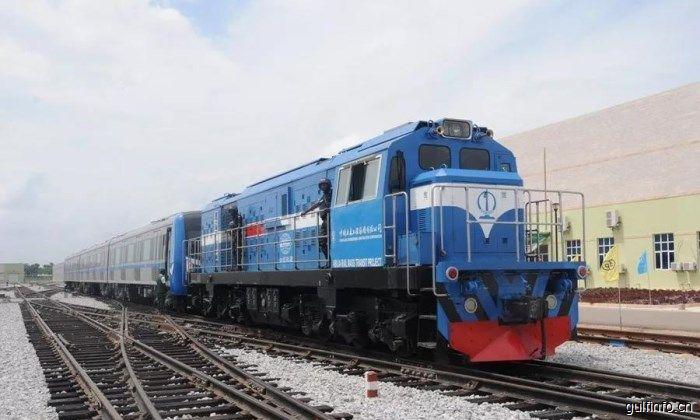 中企承建的西非地区第一条城铁正式开<font color=#ff0000>通</font>