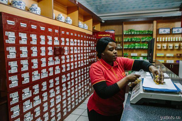 中非中医药贸易8000万美元