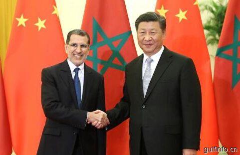 习近平会见摩洛哥首相奥斯曼尼