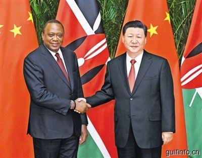 肯尼亚总统出席首届中国国际进口博览会