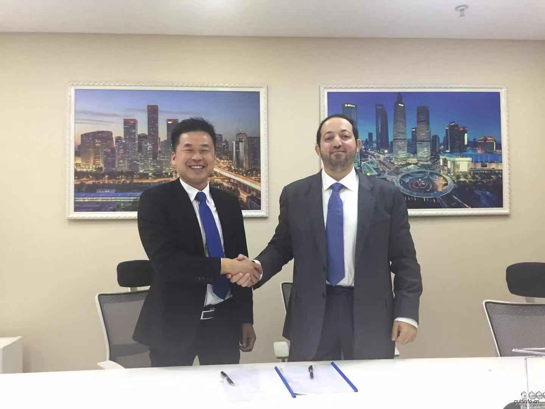 沙迦哈姆利亚自贸区与MIE集团上海公司签署战略合作协议