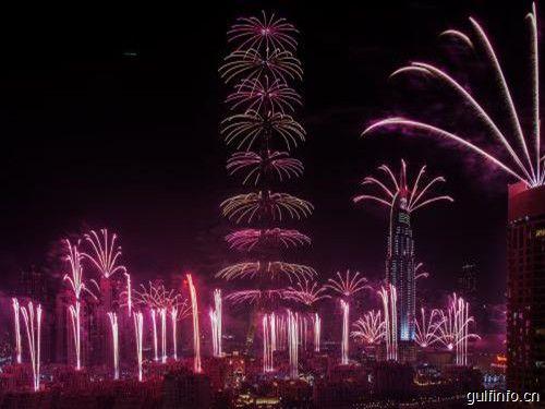 新年前夜的焰火将重回哈利法塔