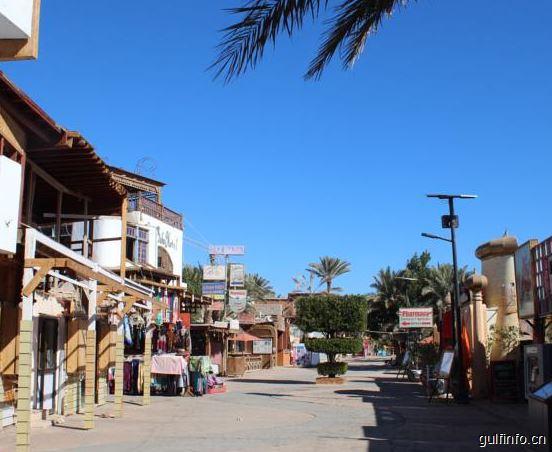 达哈布成为埃及第二个无塑料城市