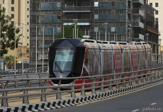 迪拜公共交通全景图