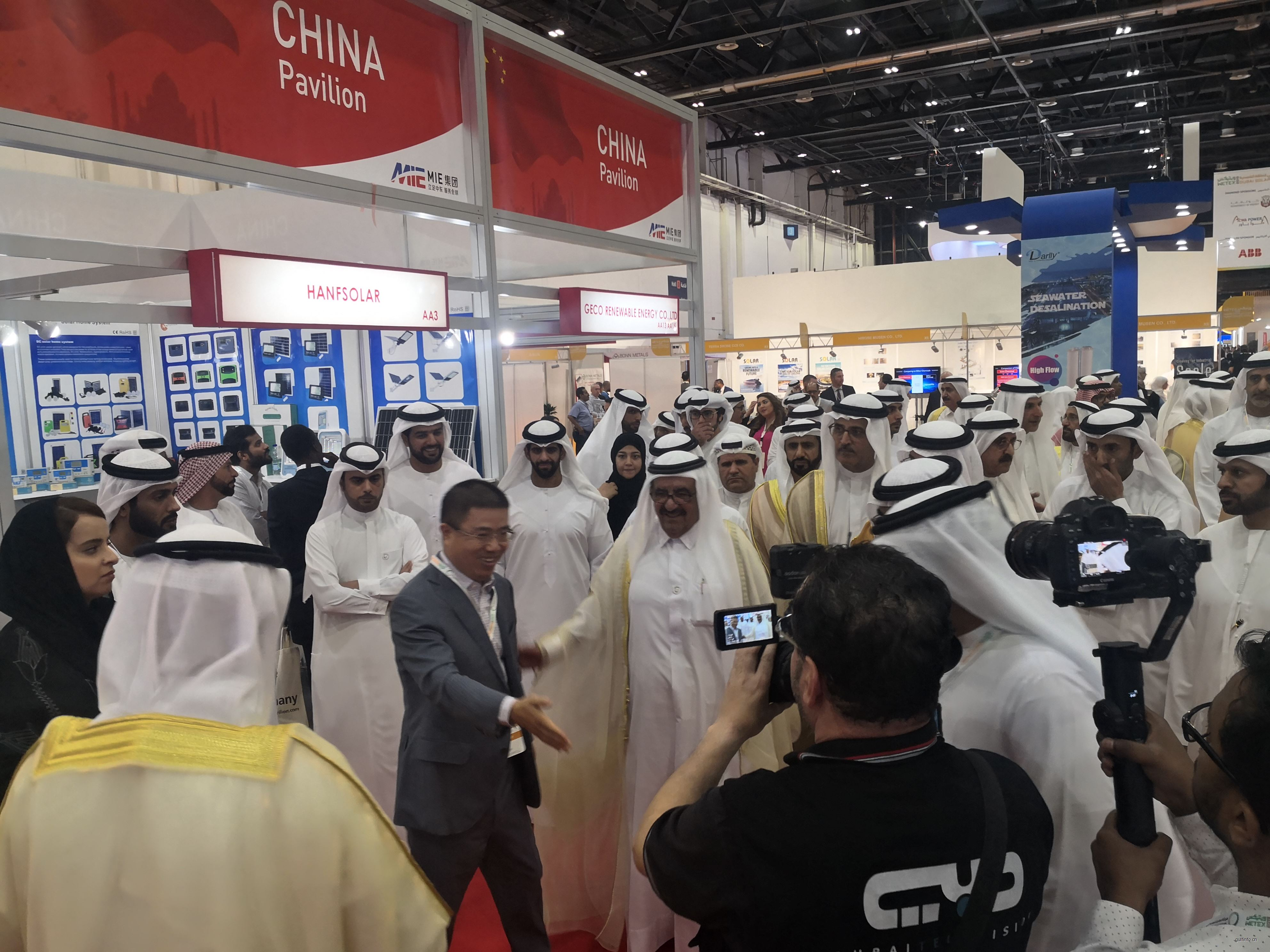 MIE集团成功组织110家中国企业参与Wetex 2019和第四届迪拜太阳能展