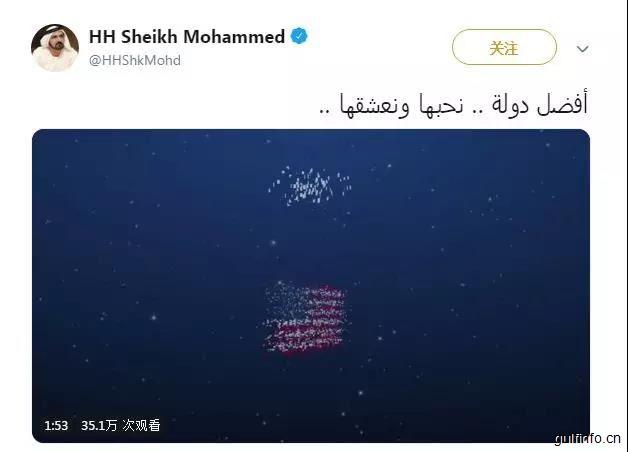 阿联酋在多项世界排名年终报告中排名第一