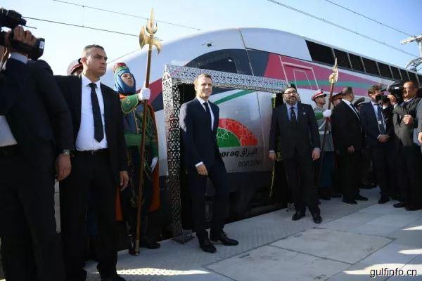 非洲第一条高铁在摩洛哥投运,连接丹吉尔和卡萨布兰卡