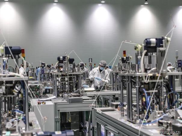 首条中埃合作口罩生产线正式投产