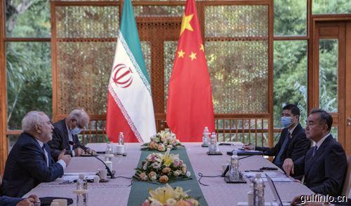 王毅同伊朗外长扎里夫举行会谈
