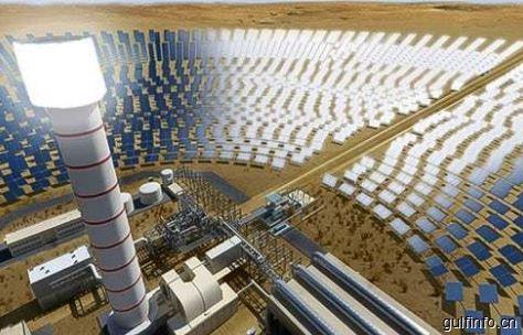 迪拜太阳能公园四期项目在建 将建成世界最高的太阳能塔
