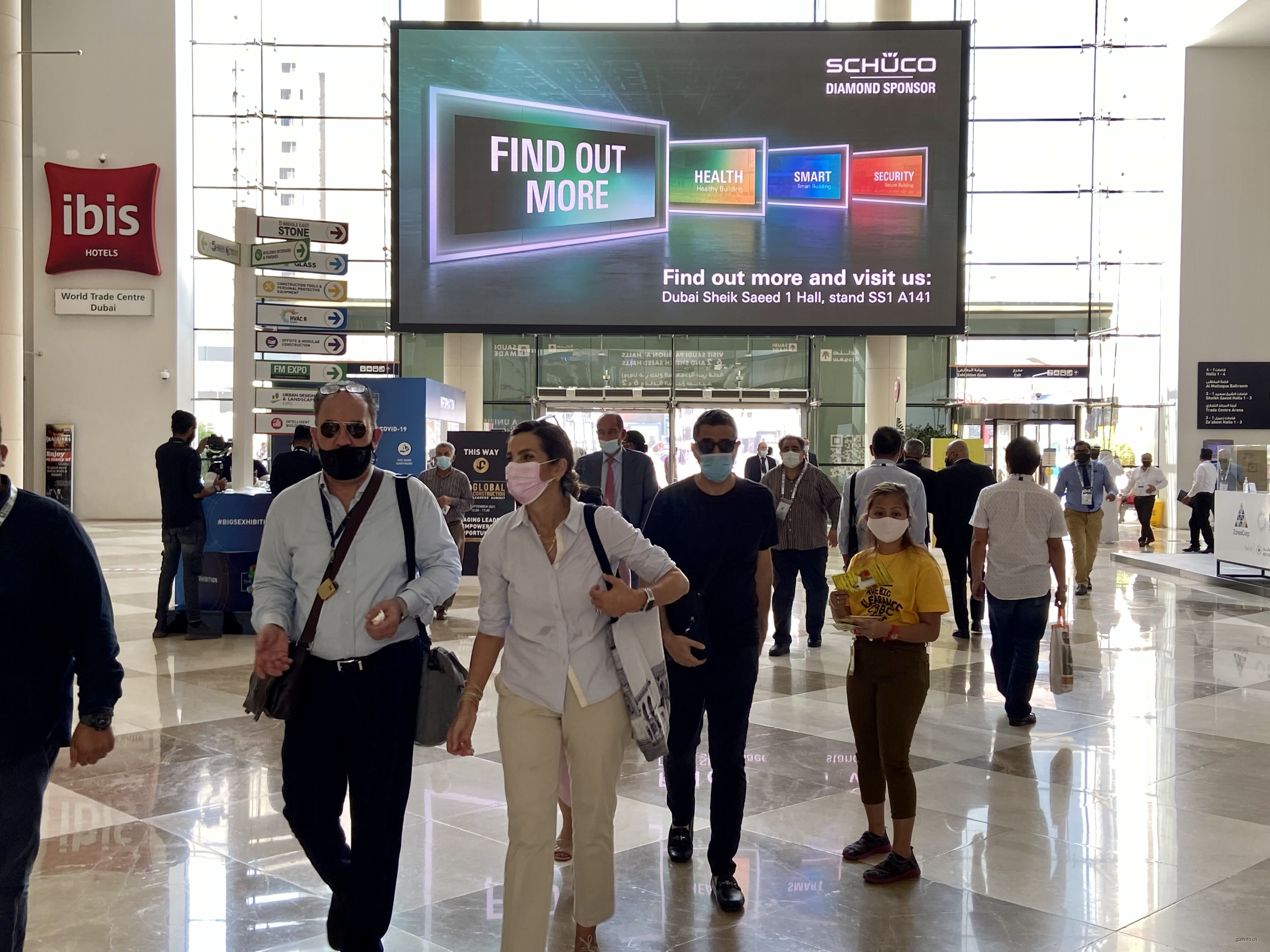 1200+采购商 | 2021迪拜五大行业展盛大开幕!