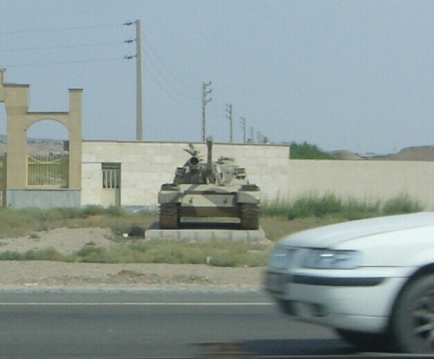我在伊朗街头看车